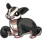 Cuddly Sugar Glider Plushie