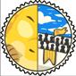 Team Yellow Sharshel Stamp