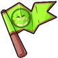Team Green Trido Flag