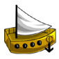 Gold Boat