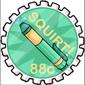 Prankster Squirt Pen Stamp