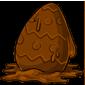 Melted Easter Egg