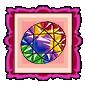 Glimmering Gemstones Stamp