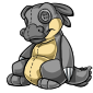 Grey Traptur Plushie