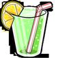 Glass of Limeade