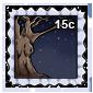 Spooky Tree Stamp
