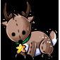 Comet Reindeer Plushie