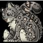 Cuddly Snow Leopard Plushie