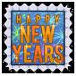 New Years 2015 Stamp