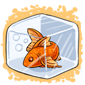 Goldfish Ice Cube