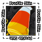 Trick or Treat Profile Skin