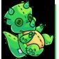 Green Trido Plushie