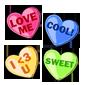 Mini Candy Hearts