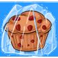 Frozen Strawberry Muffin