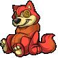 Red Wulfer Plushie