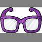 Purple Hipster Glasses