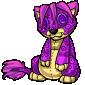 Purple Ridix Plushie