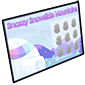 Snazzy Snowslide Mountains Scratchcard