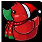 Christmas Ducky