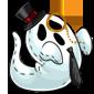 Fancy Ghost Plushie