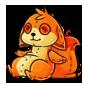 Orange Dabu Plushie