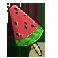 Watermelon Slice Popsicle