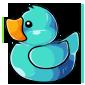 Light Blue Ducky