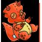 Orange Trido Plushie