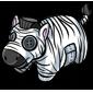 Zebra Pet Pillow