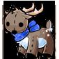 Prancer Reindeer Plushie