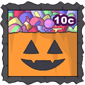 Halloween Candy Stamp