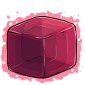 Pink Ice Cube Before 2015 revamp