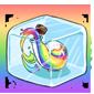 Rainbow Snow Jar Ice Cube