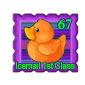 Orange Ducky Stamp Before 2015 revamp
