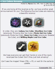 2015-09-29 Ice Cubes Revamp
