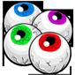 Chocolate Wrapped Eyeballs