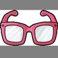 Pink Hipster Glasses