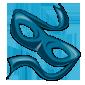 Blue Bandit Mask