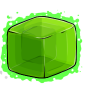 Green Ice Cube Before 2015 revamp