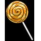 Orange Lollipop