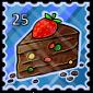 Fruitcake Stamp