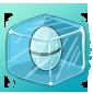 Frozen Jakrit Egg Ice Cube