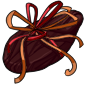 Large Giftwrapped Cocoa Bean