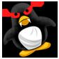 Evil Penguin Plushie