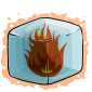 Flaming Ice Cube Before 2015 revamp