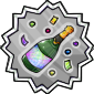 Champagne Stamp