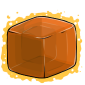 Orange Ice Cube Before 2015 revamp