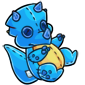 Blue Trido Plushie
