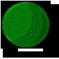 Green Bouncy Ball