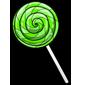 Kiwi Lollipop